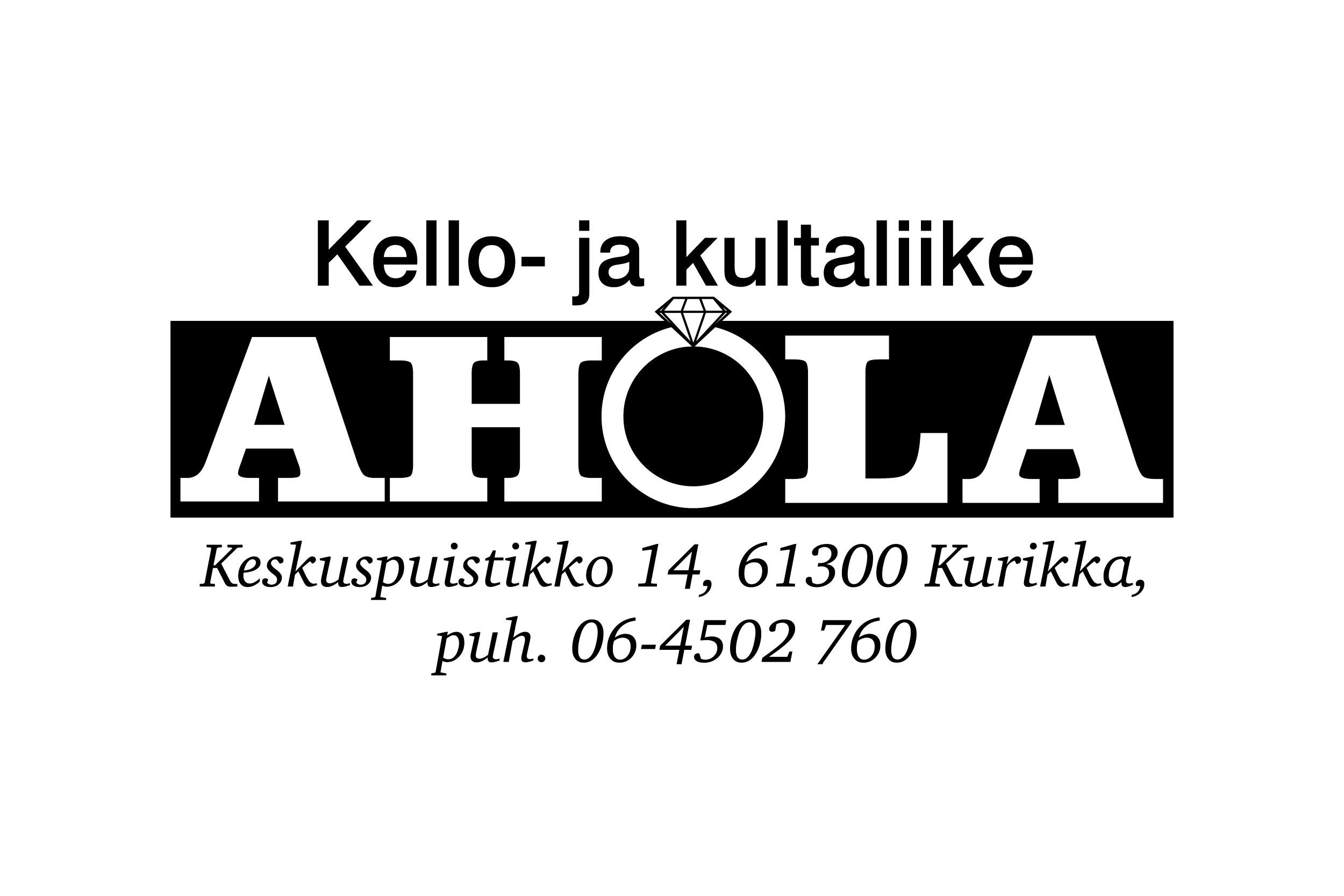 Kello- ja kultaliike Ahola